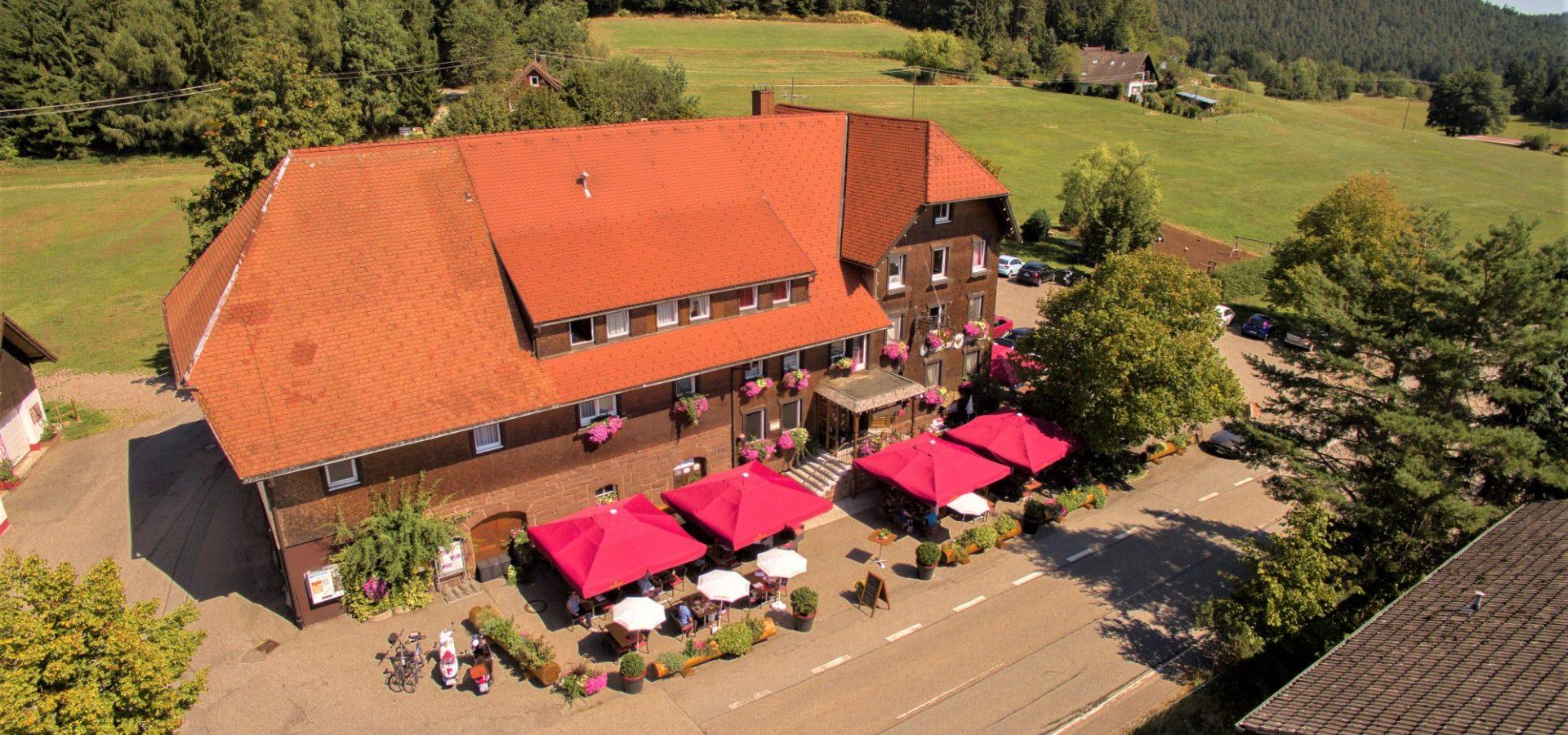 Gut Hotel Adler Fohrenbühl im Schwarzwald, zwischen Hornberg (Hornberger Schießen) und Lauterbach-Schramberg.